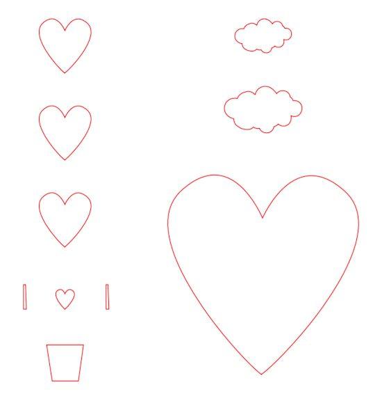 Download Free Sweet Home 3d Sweet Home 3d 4 1 Download: 3D Heart Air Balloon Card