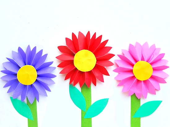 Easy Paper Daisy Craft Our Kid Things