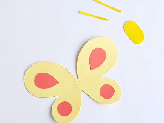 Smiley Butterflies Paper Craft Our Kid Things