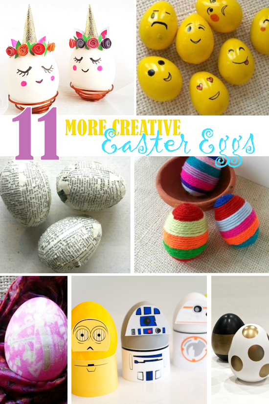 11 More Creative Easter Eggs Our Kid Things