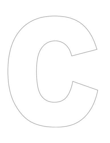 C Is For Car Letter C Craft Our Kid Things