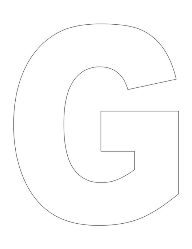 G Is For Goat Letter G Craft Our Kid Things