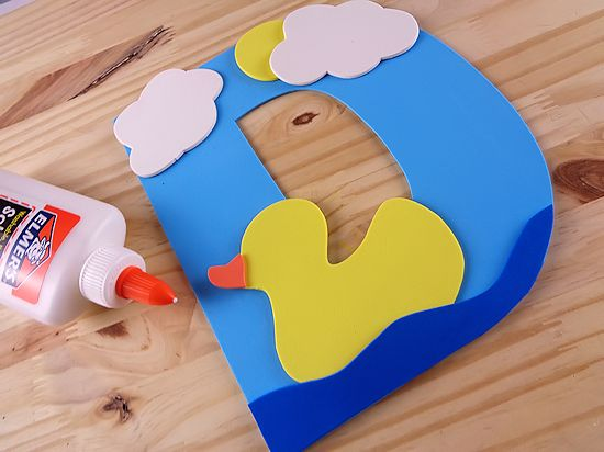 D Is For Duck Letter D Craft Our Kid Things
