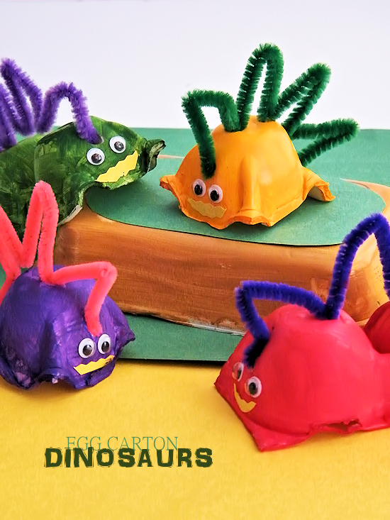 Egg Carton Dinosaurs Our Kid Things