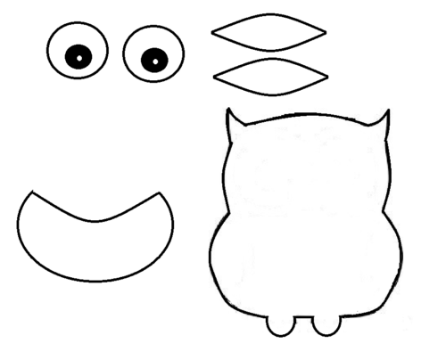 graphic about Owl Printable Template referred to as S Paper Owl Craft Our Boy or girl Variables