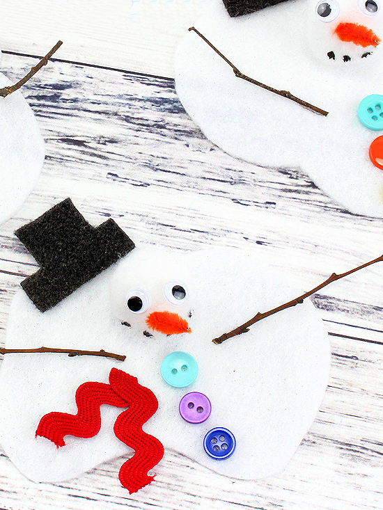 Melted Snowman Craft Our Kid Things
