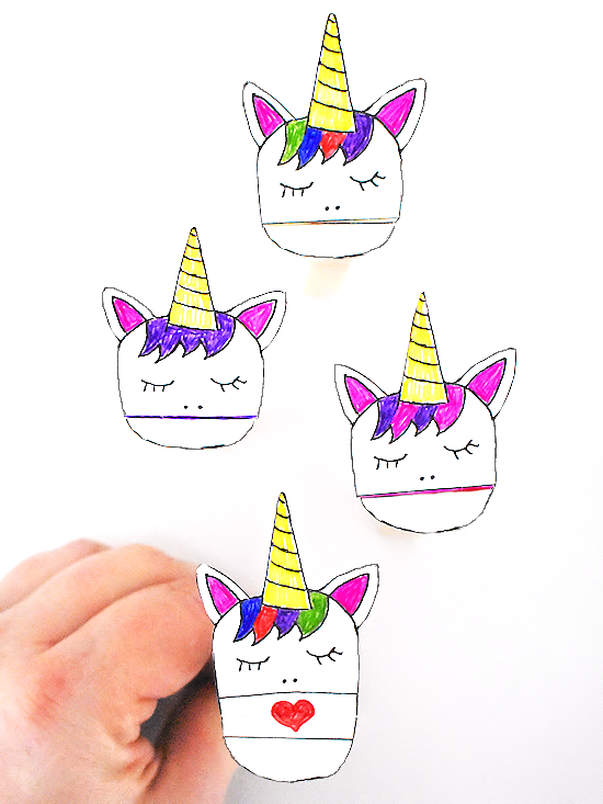 graphic about Printable Puppet referred to as Unicorn Clothespin Puppets Our Boy or girl Aspects