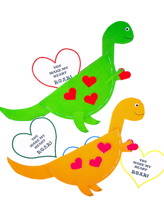 photo about Dinosaur Template Printable referred to as Dinosaur Valentine Playing cards Our Little one Components