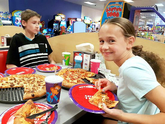 #ad Summer Birthday Celebrations at Chuck E. Cheese's