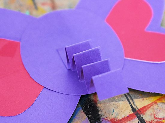 Craft Stick Heart Elephant